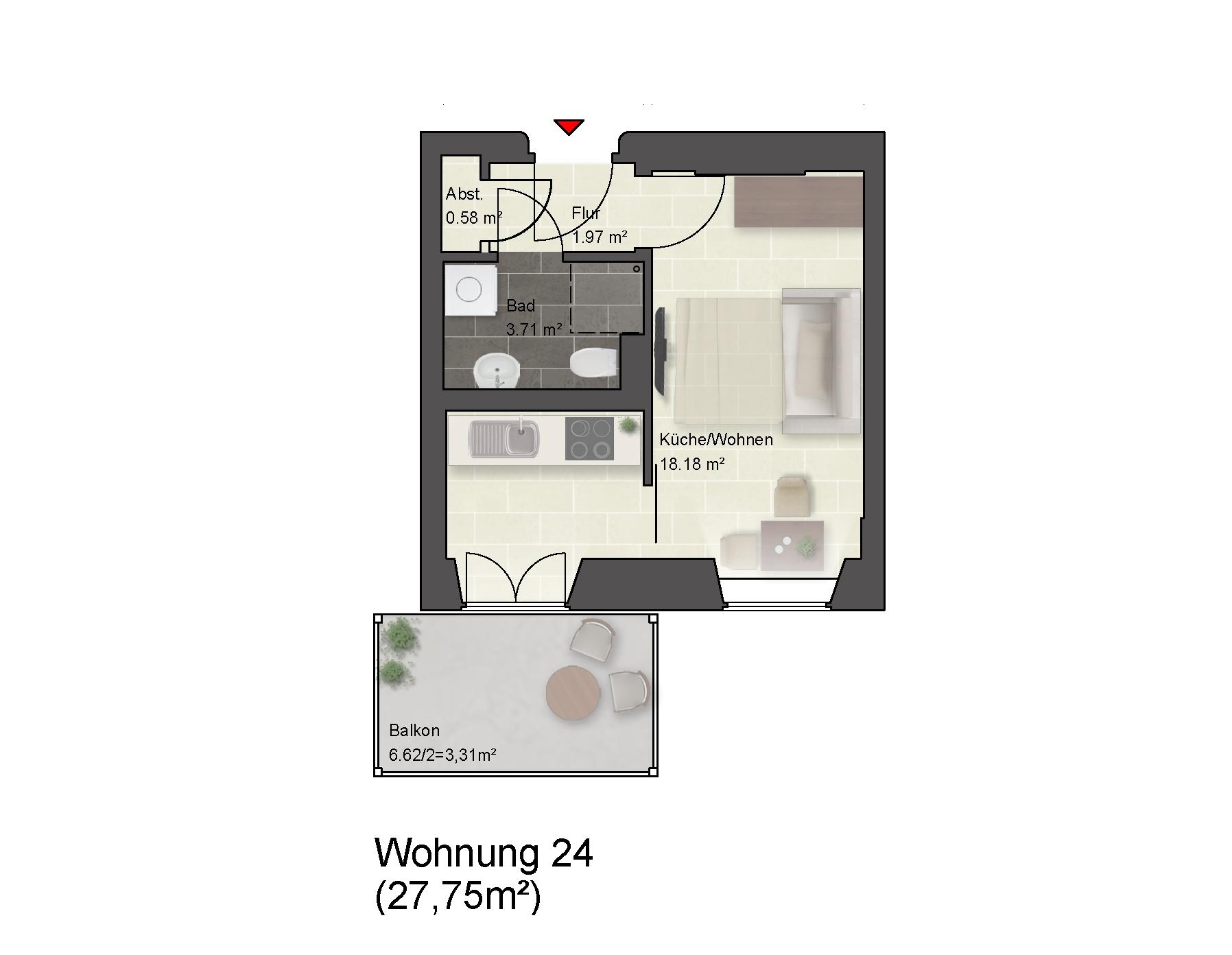 Wohnung 24 Haus 15